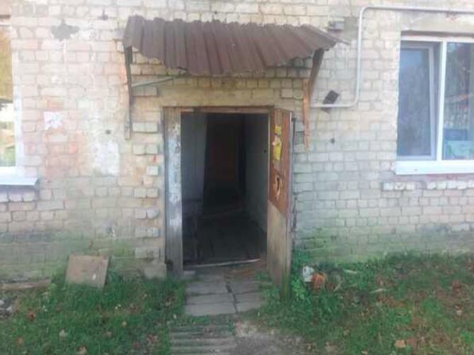 Жители брянского посёлка Рогнедино пожаловались на аварийный дом