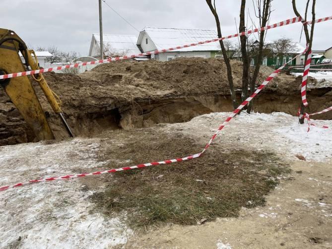 Брянский горводоканал заверил в безопасности траншеи в Бежице