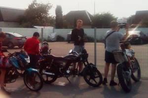 В Дятьково бьют тревогу из-за «ошалевших» подростков на мотоциклах