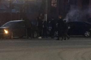 В Брянске возле железнодорожного колледжа легковушки попали в ДТП