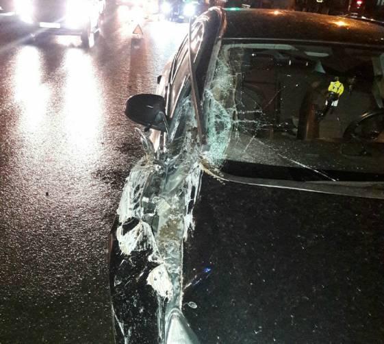 В Брянске разбившая BMW автоледи ищет очевидцев аварии