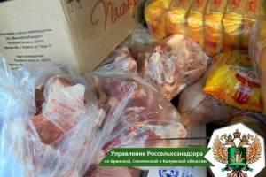 На Брянщину не пустили тонны мяса и молочки из Беларуси