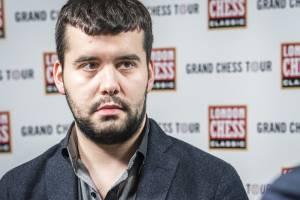 Брянский гроссмейстер Ян Непомнящий обыграл экс-чемпиона мира Виши Ананда