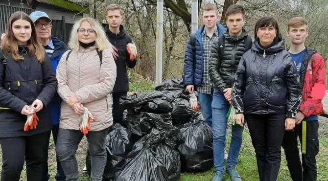 В Брянске очистили от мусора Нижний Судок