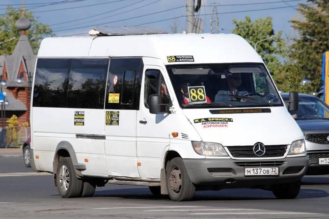 В Брянске досрочно закроют маршрутки №88