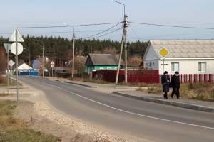 В Большом Полпино отремонтировали улицы Снежетьская и Вокзальная