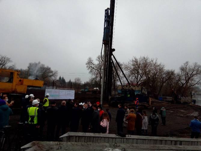 В Брянске началось строительство нового моста на Набережной