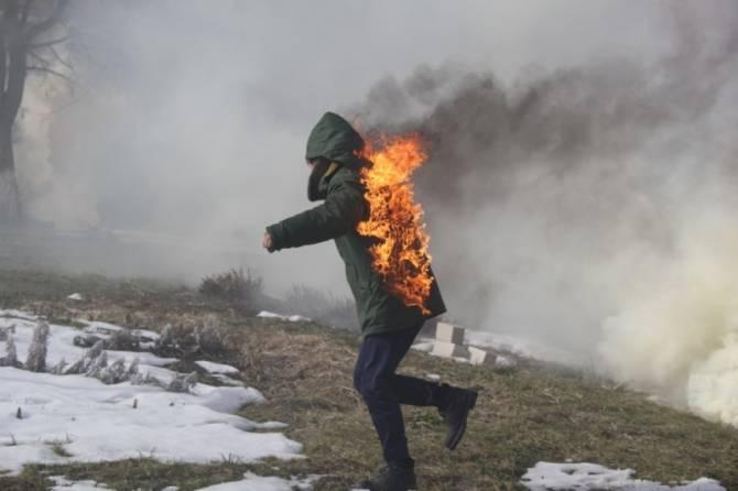 В Новозыбкове из педколледжа эвакуировали 150 студентов