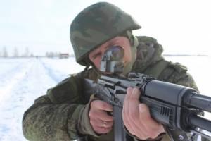 Брянские военные получили новые коллиматорные прицелы