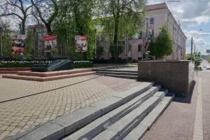 Брянцев встревожил нависший над проспектом Ленина провод