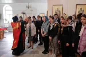 Сельцовские выпускники помолились перед ЕГЭ