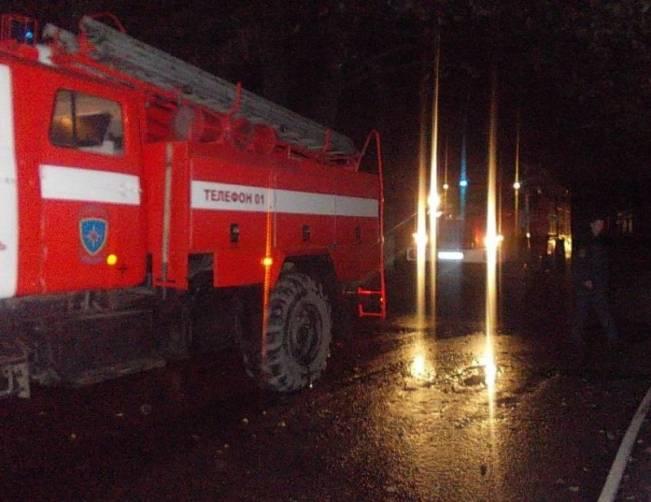 Ночью в Севском районе сгорел жилой дом
