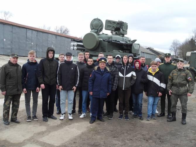 Воспитанники клуба «Резерв» из Брянска посетили музей войск ПВО