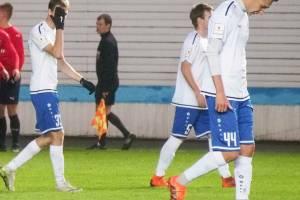 Брянское «Динамо» завершило первый круг на границе зоны вылета