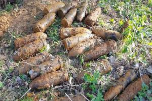 В Трубчевском районе обезвредили крупный склад боеприпасов