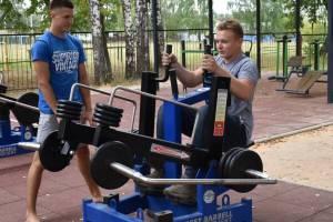 В Клетне построили спортплощадку за 2,4 миллиона рублей