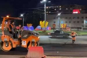 В Брянске отремонтировали «кольцо» на улице Ульянова
