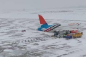 В Брянске снегопад не повлиял на работу аэропорта