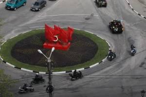 В Клинцах прошел мотопробег в честь Дня Победы