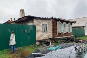 Новозыбковским погорельцам собрали 40 тысяч рублей