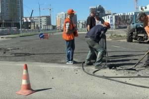 В Брянске на «перекрёстке Богомаза» начался новый ремонт