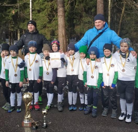 Юные футболисты школы «Рапид-Брянск» выиграли турнир Atlas cup