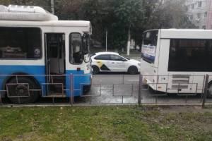 В Брянске ищут свидетелей ДТП с автобусом и троллейбусом
