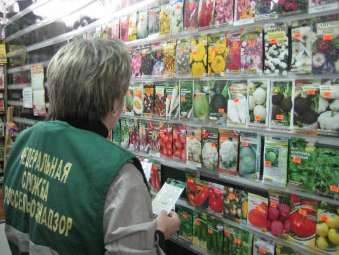 На Брянщине за месяц забраковали почти 4,4 тысячи семян и саженцев