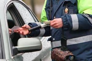 В Брянской области пьяный молдаванин попытался подкупить гаишника