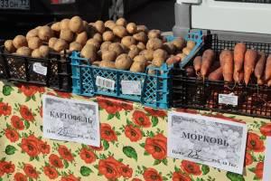 На ярмарках выходного дня брянцы приобрели 67 тонн овощей и фруктов
