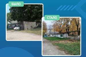 В Новозыбкове снесли жуткий сарай около детсада