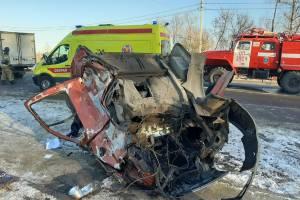 Брянский водитель попал в страшное ДТП в Тульской области