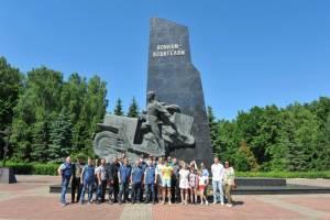 Через Брянск проехали участники мотопробега Москва-Брест