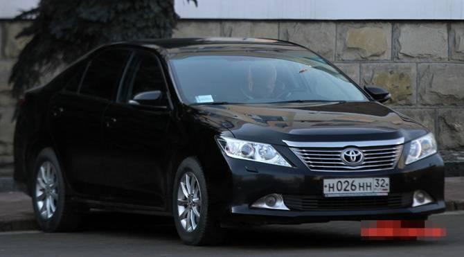 Брянские чиновники потратят 826 тысяч на запчасти для Toyota Camry