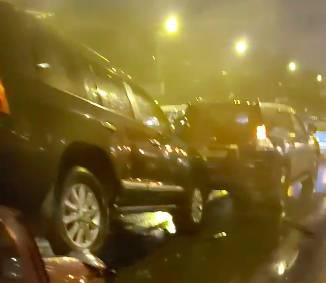 В Брянске опубликовано видео с места жуткого ДТП на Литии