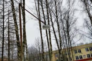 В Брянске сквер у БГИТУ стал небезопасным