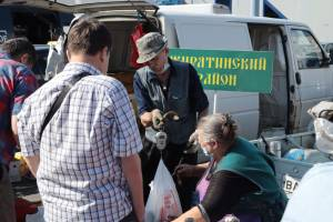 На ярмарке выходного дня брянцы раскупили 10 тонн картофеля