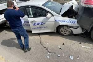 В Брянске в массовом ДТП на «Перехватчике» пострадал 17-летний парень