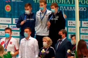 Брянский пловец Илья Бородин завоевал золото чемпионата России