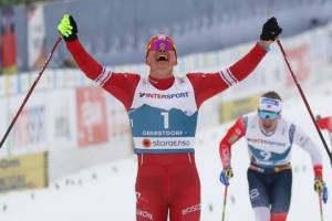 Стала известна сумма призовых брянского лыжника Большунова на Кубке мира