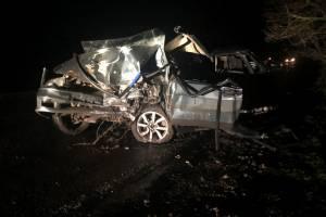 Жуткое ДТП на брянской трассе устроил пьяный водитель