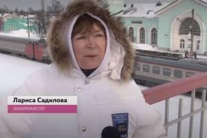 В Брянске сняли финальную сцену нового фильма Ларисы Садиловой
