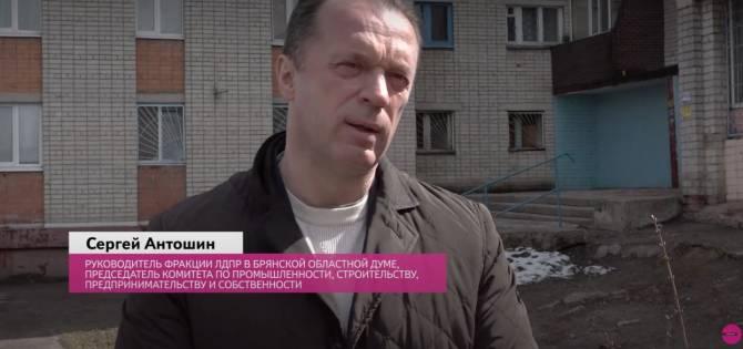 Депутат Сергей Антошин развез подарки семьям Бежицкого района