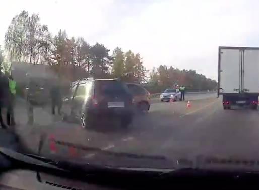 Серьезная авария под Выгоничами обошлась без пострадавших