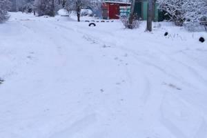 Жители Новозыбкова пожаловались на нечищенные дороги