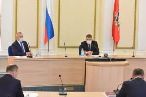 Брянский губернатор призвал глав районов привиться от COVID-19