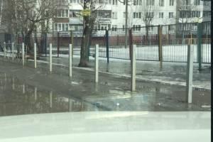 Брянцы разобрали уродливый забор возле детсада «Мишутка»
