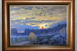 В Брянске открылась выставка живописи Василия Лаворько