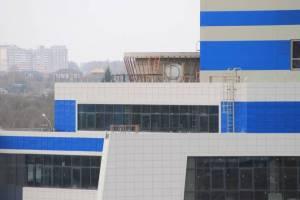 В Брянске строительство Дворца единоборств вышло на финишную прямую