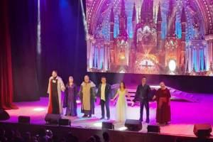 Брянцам представили легендарное музыкальное шоу «Нотр Дам де Пари»